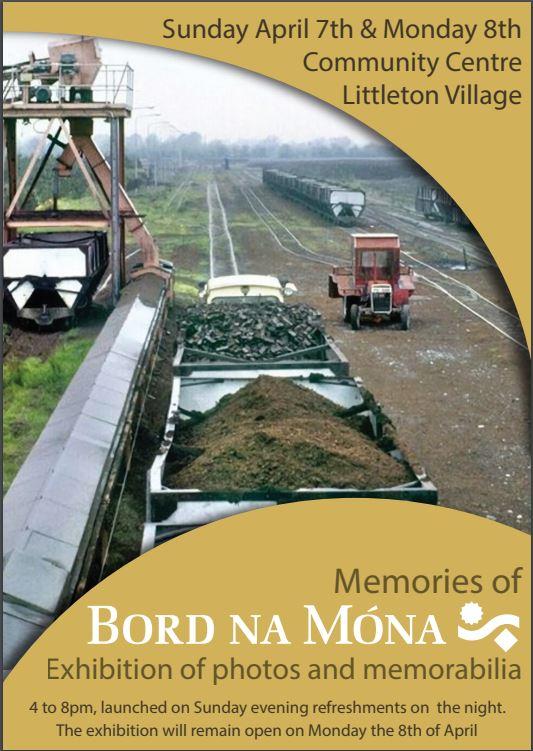 Littleton; History Of Bord Na Mona Exhibition