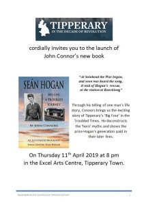 sean hogan book launch