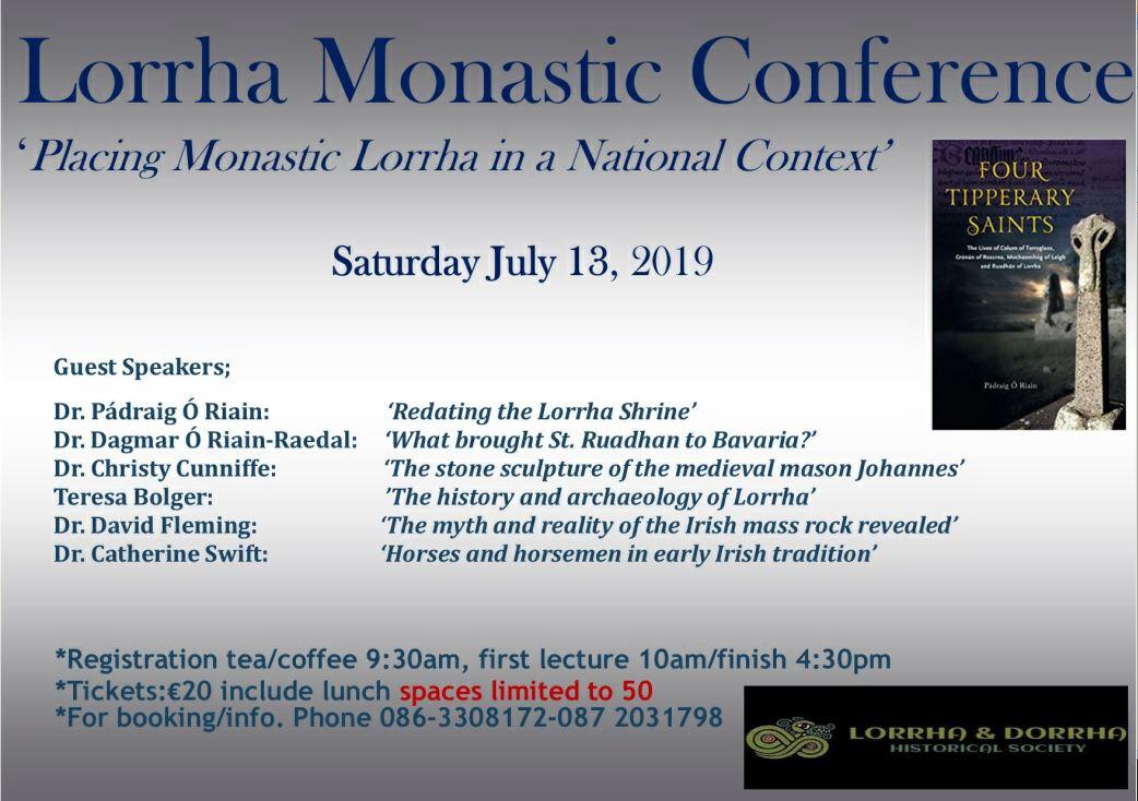 Lorrha Monastic Conference