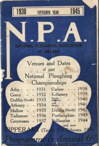 National ploughing ch 1945