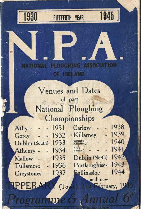 Ploughing Championship 1945