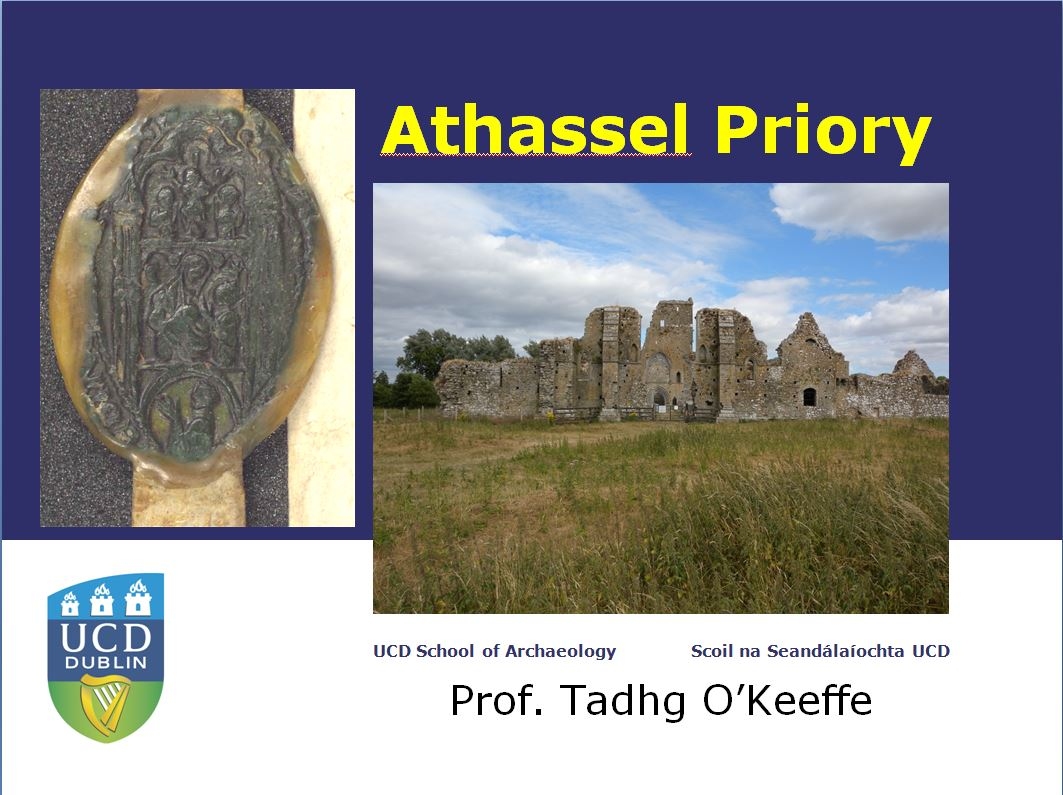 Athassel Lecture Podcast And Video Now Available