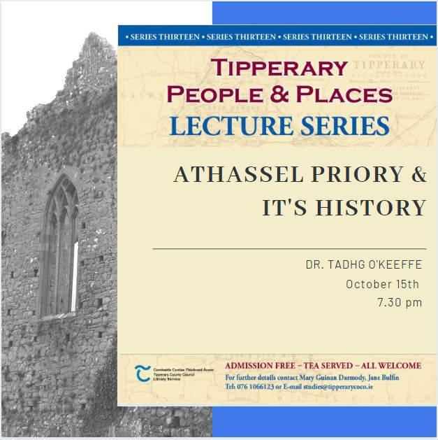 Tipperary People And Places October Lecture