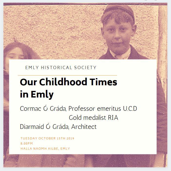 Emly Historical Society Talk