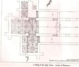 holycross ceiling detail