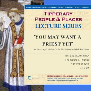 November 'People And Places' Lecture