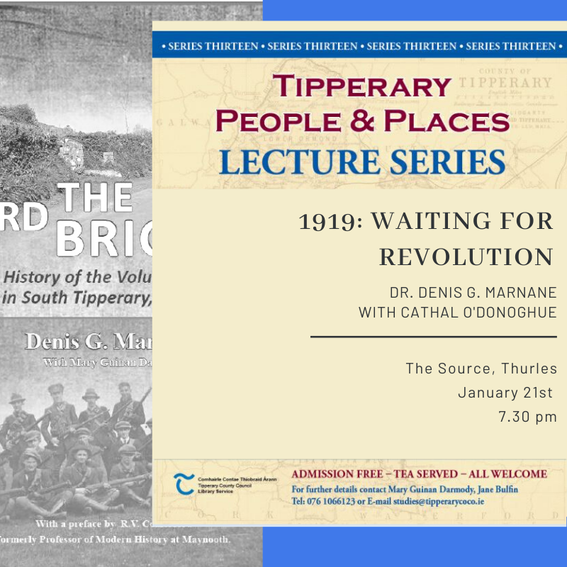 January Lecture; 1919 Waiting For Revolution