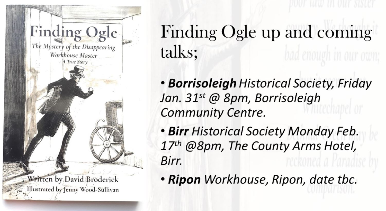 Finding Ogle – David Broderick Talk On Portumna Workhouse