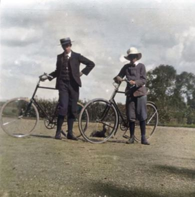 Archives Snapshot: Bicycles