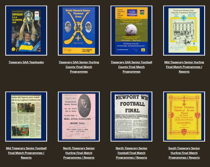 Archives Snapshot: GAA Match Programmes