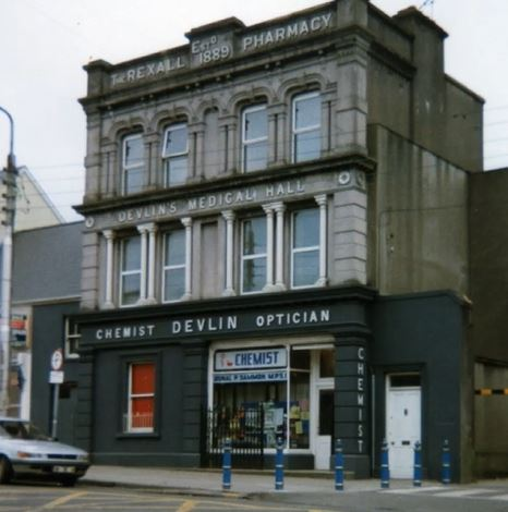 Archives Snapshot:  Sammon's Pharmacy, 50 Liberty Square, Thurles.