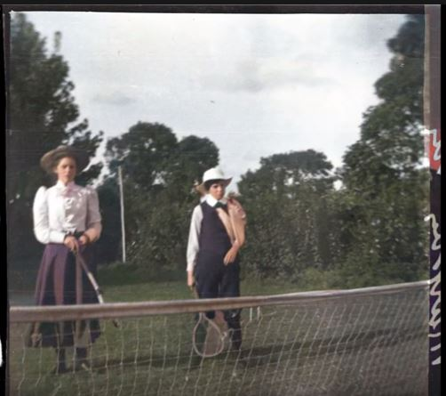Archives Snapshot: Lawn Tennis
