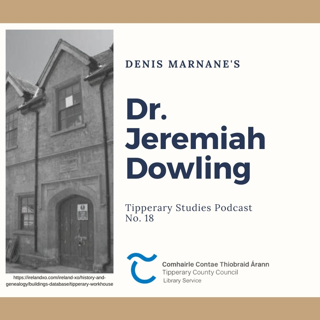Podcast 18; Dr Jeremiah Dowling
