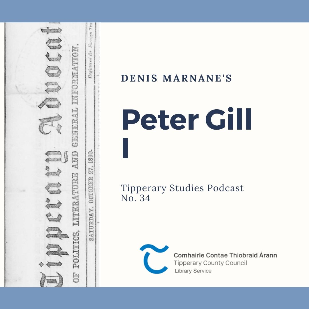 Podcast 34; Peter Gill I