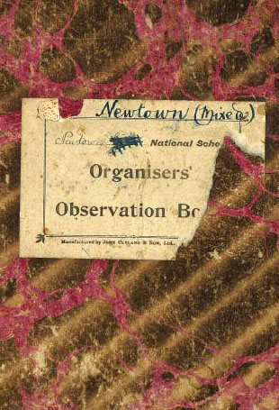 Newtown NS observation book laundry cookery sewing 1910 2