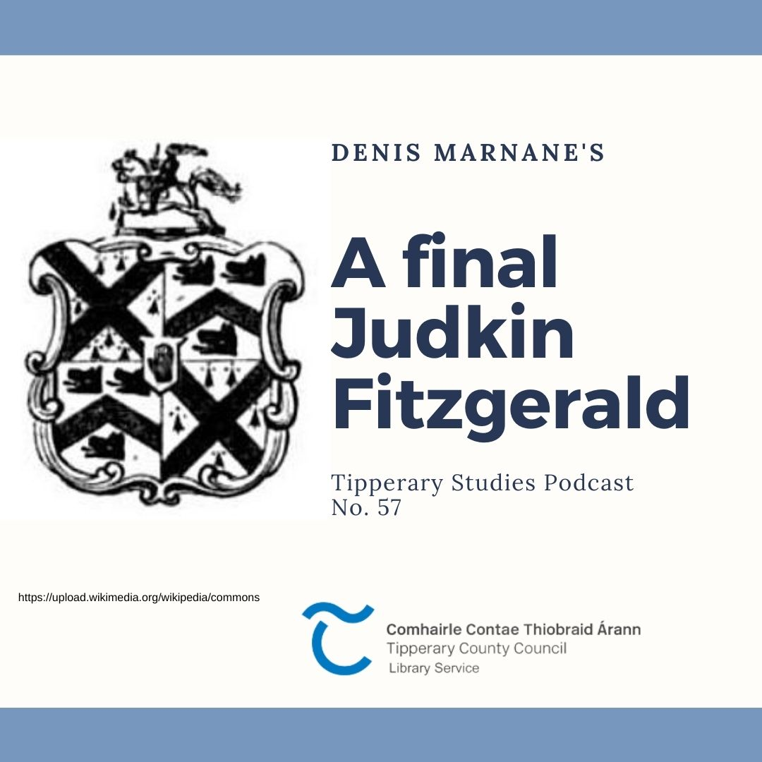 Podcast 57; A Final Judkin Fitzgerald
