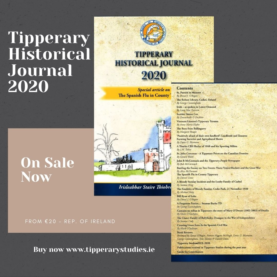 2020 Tipperary Historical Journal Now Available