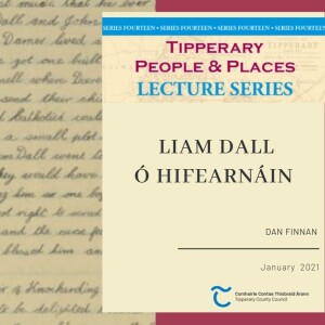 January Lecture; Liam Dall O'hIefearnáin
