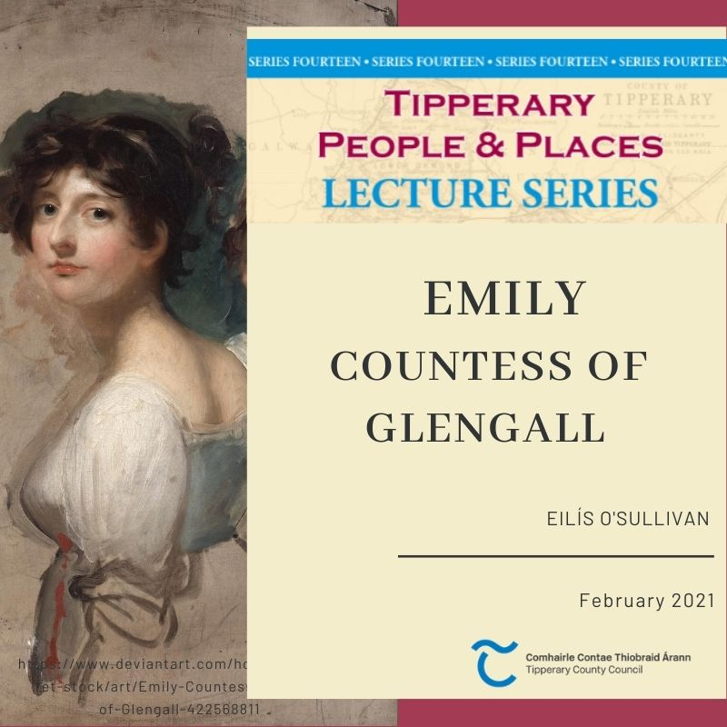 February Lecture; Emily Countess Of Glengall