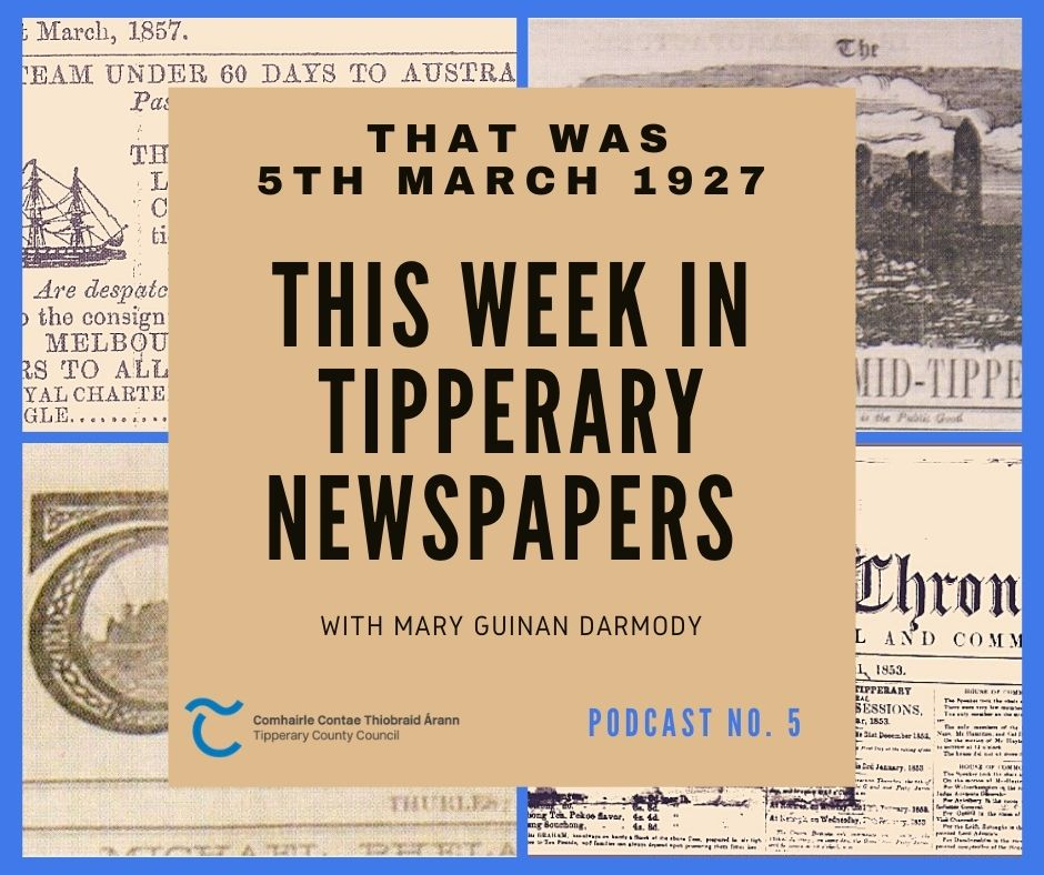 Tipperary Newspapers From 5th March 1927