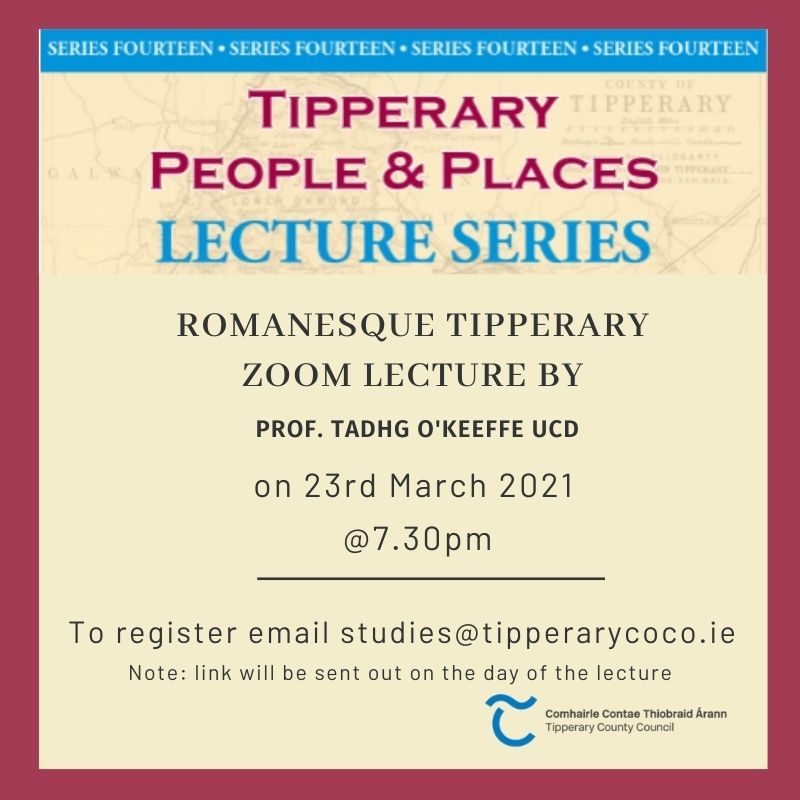March Lecture Open For Registration