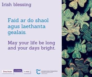 Seachtain na Gaeilge 3 Facebook Post