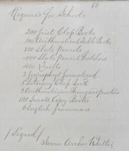 Clogheen PLU 7 February 1852