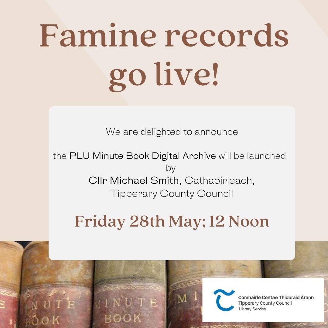 Famine Era PLU Records Launch